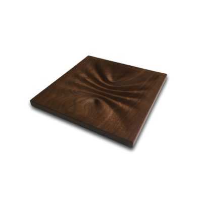 Pinched Walnut Wave Valet / Art Decor